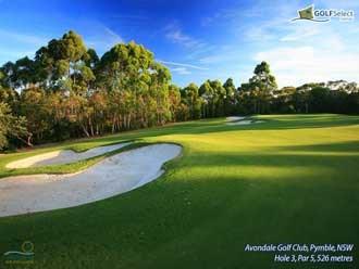 Avondale Golf Club Hole 3, Par 5, 526 metres