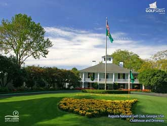 Augusta National Clubhouse and Driveway