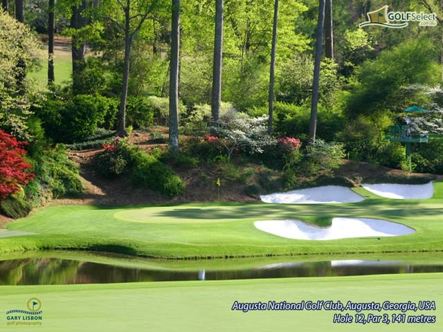 Golfselect Golf Wallpaper Augusta National Hole 12