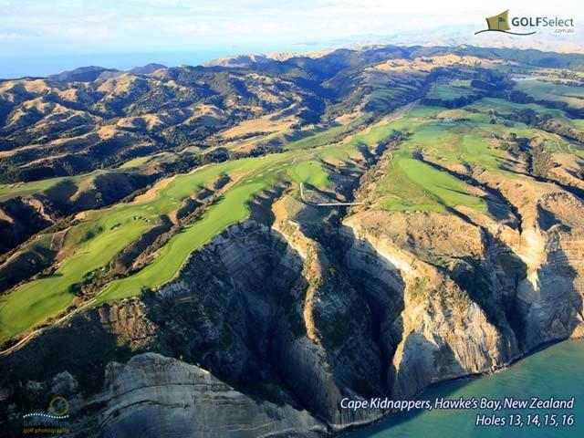 Golfselect Golf Wallpaper Cape Kidnappers Golf Course