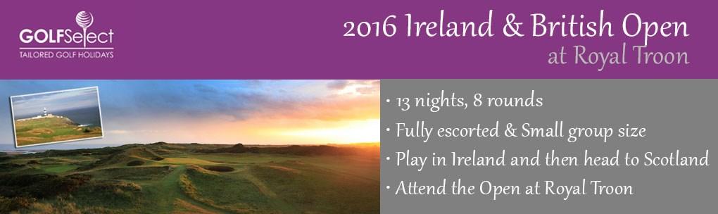 Ireland Golf, 2016 Open Championship - Royal Troon