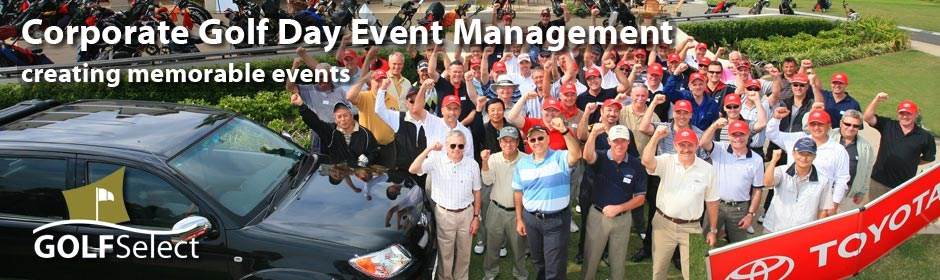 Corporate Golf Event Management
