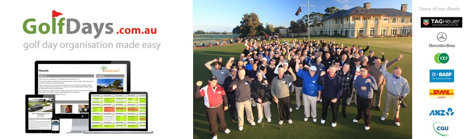GolfDayPro - Event Organisation made easy