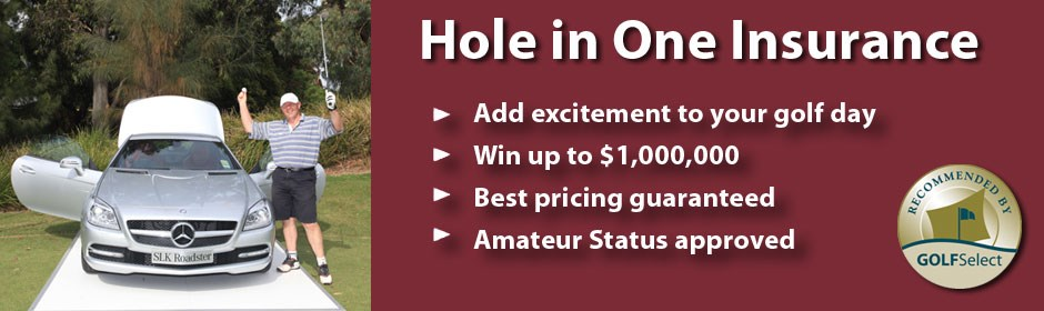 Hole in One Insurance - up to $1,000,000