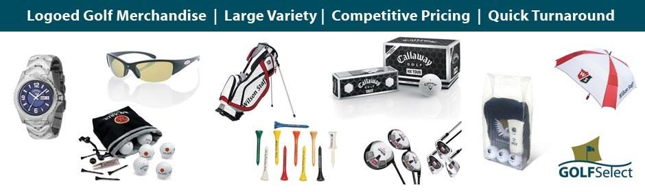 Logoed Golf Merchandise