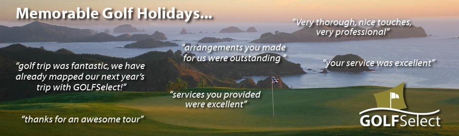 Memorable Golf Holidays