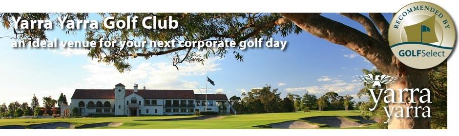 Yarra Yarra GC - ideal for corporate golf