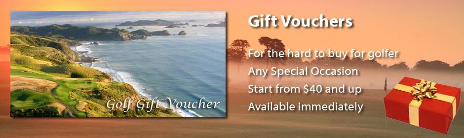 Golf Gift Vouchers