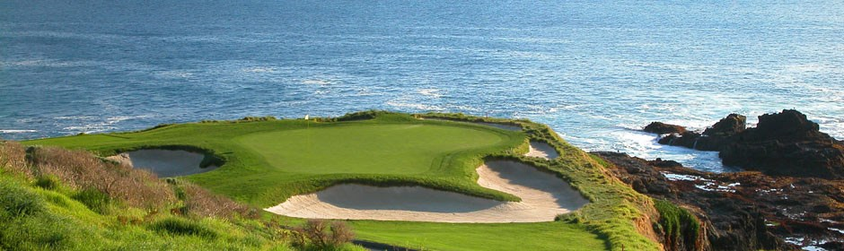 Pebble Beach, Monterey Peninsula, USA